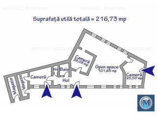 Casa cu 6 camere de vanzare, zona Buna Vestire, 385.35 mp