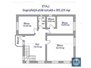 Spatiu industrial de inchiriat, zona Est, 192.35 mp