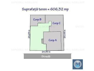 Vila cu 10 camere de vanzare, zona Ultracentral, 290 mp