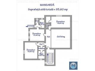 Vila cu 6 camere de vanzare in Gageni, 233.9 mp