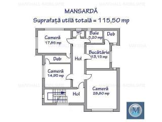 Spatiu  birouri de vanzare, zona Central, 346.8 mp