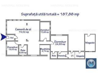 Casa cu 4 camere de vanzare in Lipanesti, 187.88 mp