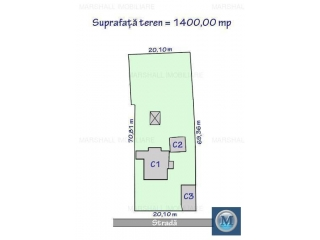 Vila cu 8 camere de vanzare in Tatarani, 182.11 mp