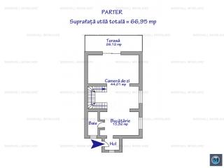 Vila cu 5 camere de vanzare in Bucov, 125 mp
