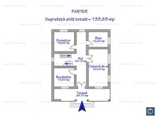 Vila cu 5 camere de vanzare, zona Exterior Vest, 266.66 mp