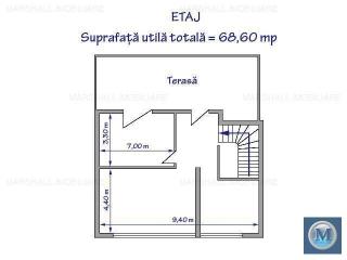 Spatiu comercial de inchiriat, zona Est, 136.3 mp