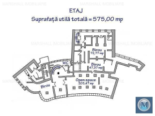 Spatiu comercial de inchiriat, zona P-ta Mihai Viteazu, 575 mp