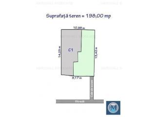 Casa cu 3 camere de vanzare, zona Nord, 69.07 mp