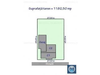 Casa cu 4 camere de vanzare, zona Central, 122.05 mp