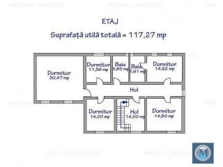 Vila cu 7 camere de vanzare in Strejnicu, 191.29 mp