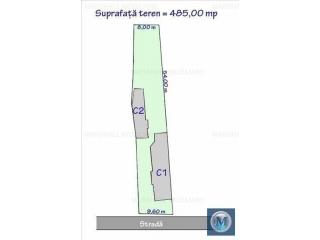 Casa cu 5 camere de vanzare, zona Central, 137 mp