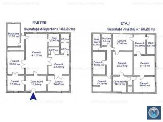 Vila cu 12 camere de vanzare, zona Sud, 331.45 mp