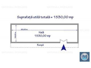Spatiu industrial de inchiriat in Boldesti-Scaeni, zona Exterior Nord, 1530 mp