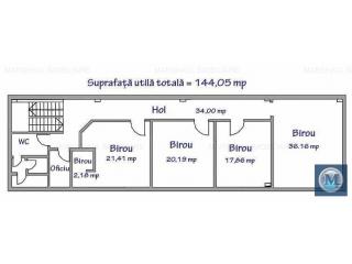 Spatiu industrial de inchiriat, zona Exterior Vest, 1300 mp