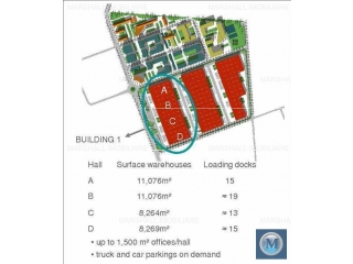 Spatiu industrial de inchiriat, zona Exterior Vest, 2000 mp