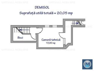 Vila cu 6 camere de vanzare, zona Albert, 273.7 mp