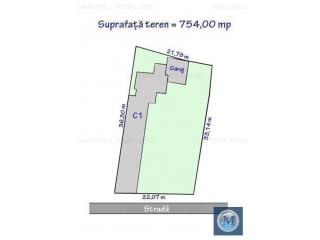 Casa cu 5 camere de vanzare, zona Central, 150.4 mp