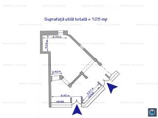 Spatiu comercial de inchiriat, zona Vest, 105 mp
