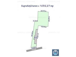 Teren intravilan de vanzare, zona Democratiei, 1032.27 mp