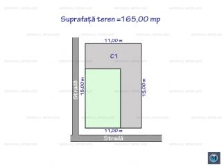 Teren intravilan de vanzare, zona Traian, 165 mp