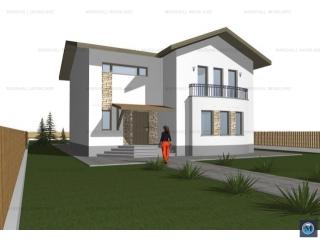 Vila cu 5 camere de vanzare in Paulesti, 83.33 mp