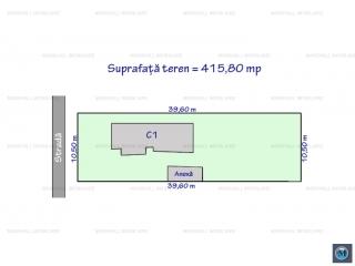 Teren intravilan de vanzare, zona B-dul Bucuresti, 415.8 mp